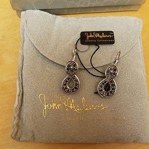 John Medeiros earrings, nwt